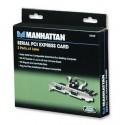 Tarjeta PCI-Express Serial Manhattan. 2 Puertos