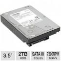"""Toshiba 2TB. 3.5"""" SATA 3."""