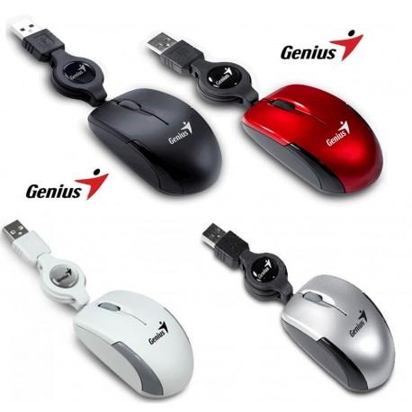 Ratón Genius Micro Traveler retractil USB