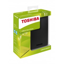 Toshiba Canvio Basics de 1TB. USB 3.0