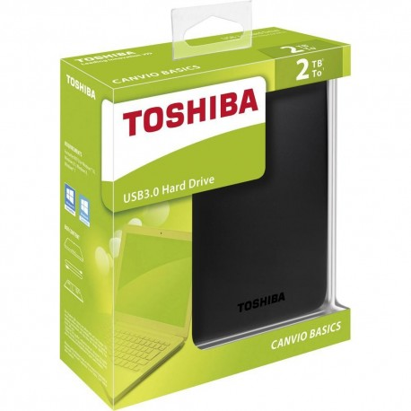 Toshiba Canvio Basics de 2TB. USB 3.0