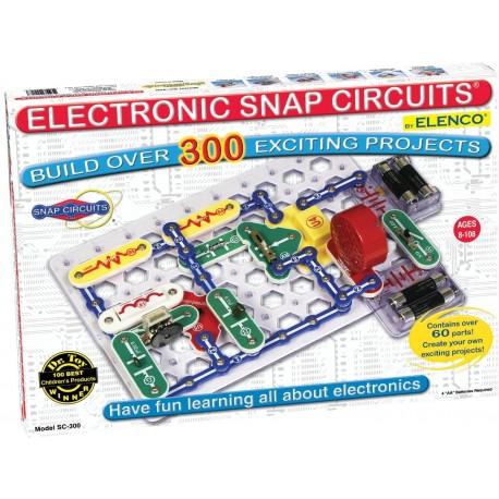 Snap Circuits SC-300 Descubriendo la electrónica
